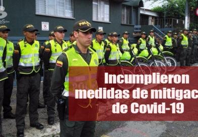 Policía Metropolitana aplicó 127 medidas correctivas