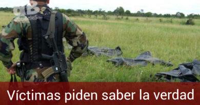 Víctimas de falsos positivos en los Llanos Orientales piden que altos oficiales cuenten la verdad sobre la muerte de sus familiares