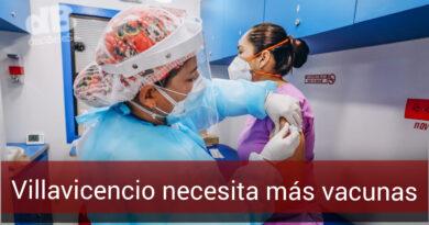 En Villavicencio ya se aplicaron todas las vacunas