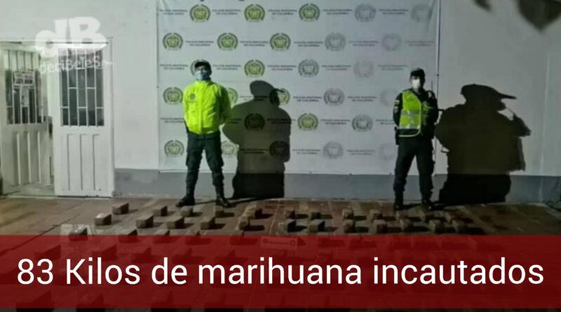 Incautan casi 100 kilos de marihuana en el barrio Betty Camacho