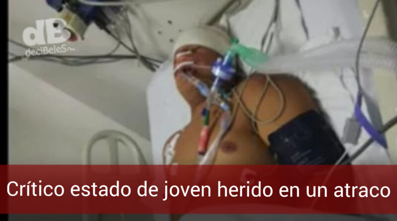 Joven acacireño herido durante un robo se debate entre la vida y la muerte