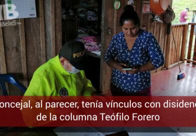 Concejal de Caquetá es judicializada por presuntos nexos con disidencias de las FARC