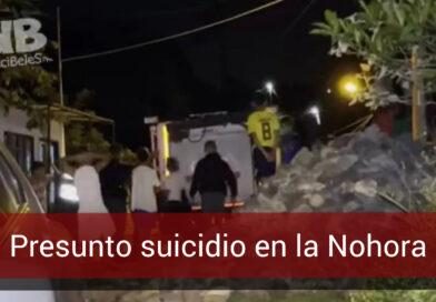Joven se habría suicidado en el barrio la Nohora