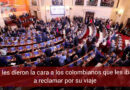 Congresistas le huyeron a colombianos que los iban a recibir en Miami