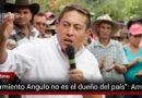 Carlos Amaya no le recibirá dinero a Angulo para su campaña presidencial