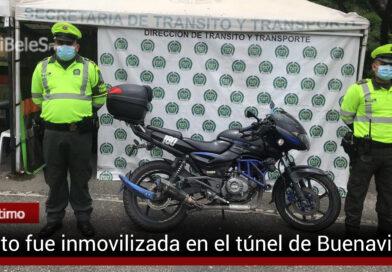 Inmovilizan motocicleta por orden judicial