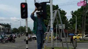 Arreglo del Cableado de los Semáforos