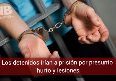 Dos presuntos delincuentes a la cárcel por hurto a comerciantes