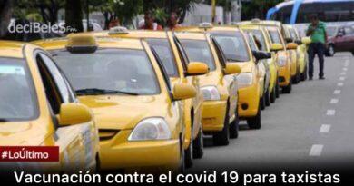 Mañana sábado inicia la vacunación anticovid para taxistas de Villavicencio