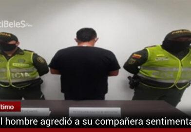 Hombre capturado por fabricación, tráfico o porte de armas d e fuego y violencia intrafamiliar