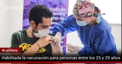 Comienza la vacunación anticovid para mayores de 25 años en Villavicencio