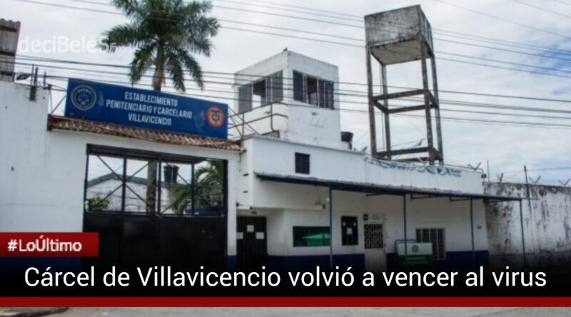 Cárcel de Villavicencio logró la anhelada inmunidad de rebaño