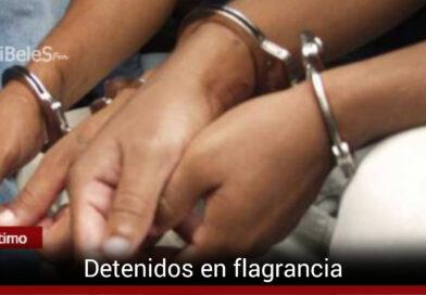 Dos hombres capturados por intento de hurto en El Buque