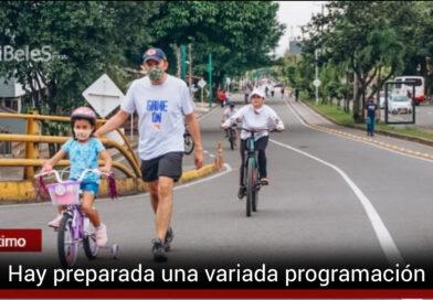 La 'recreovía' apoyará la Semana de la Movilidad Sostenible
