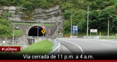 Cierre total de vía Bogotá-Villavicencio durante siete días